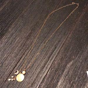 JCrew pendant necklace.